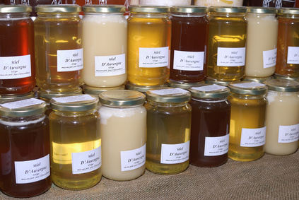 miel d'acacia couleur